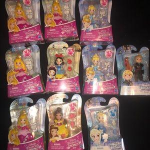 Disney little kingdom lot new 10 pieces